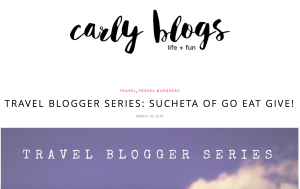 Carly Blogs