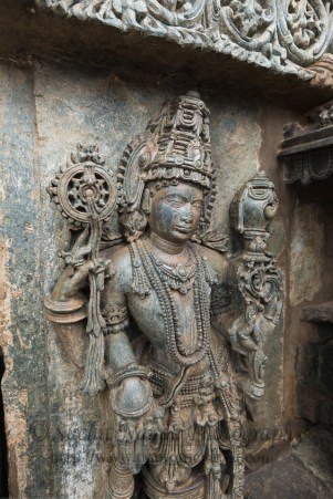 The Channakesava Temple, Belur, Karnataka.