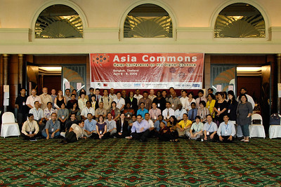 Group photo Asian Conference on the Digital Commons