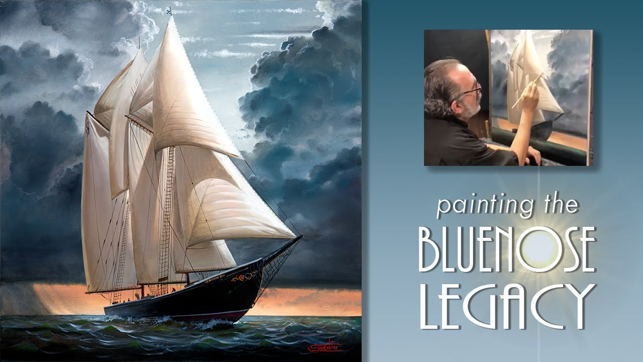 The BLUENOSE Legacy – High Speed Painting Video