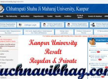 Kanpur University Result 2021 Name Wise (Regular, Private, Back Paper)