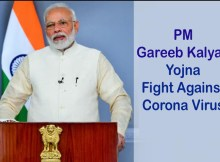 PM Modi Gareeb Kalyan Yojna Fight against coronavirus