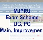 MJPRU Exam Scheme 2021 new exam date sheet Download Admit Card