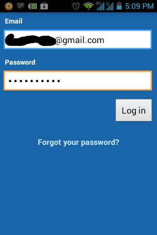 Login Dropbox