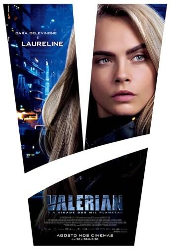 Valerian e a Cidade dos Mil Planetas laureline