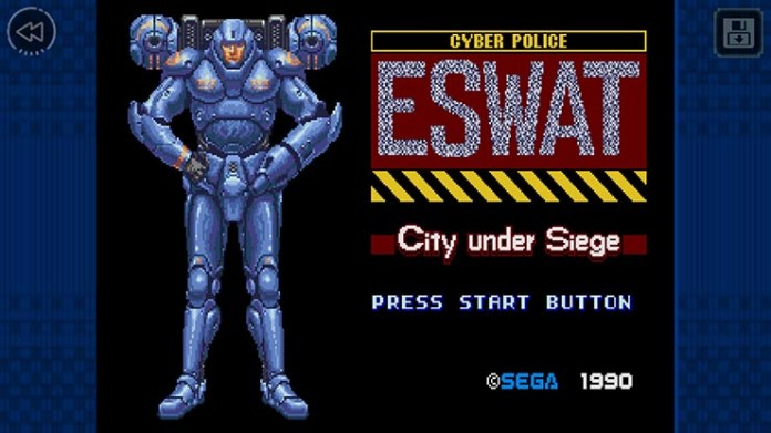 ESWAT: City Under Siege SEGA