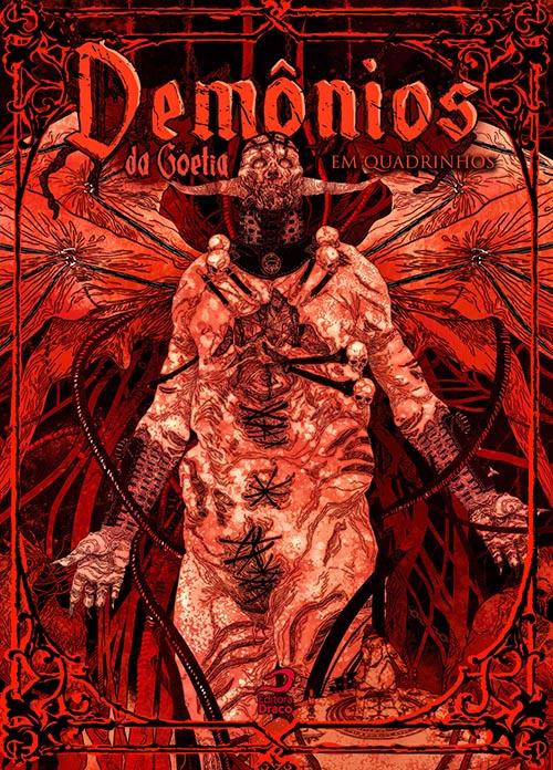 Demônios da Goetia em Quadrinhos draco
