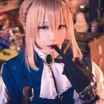 violet evergarden chihiro cosplay