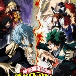 visual da terceira temporada de My Hero Academia