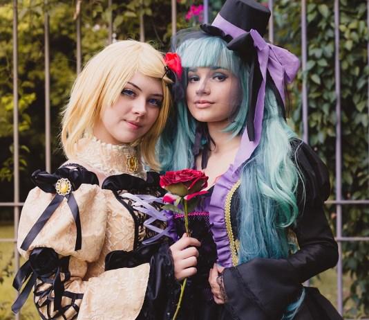 cosplay girls rin kagamine e hatsune miku