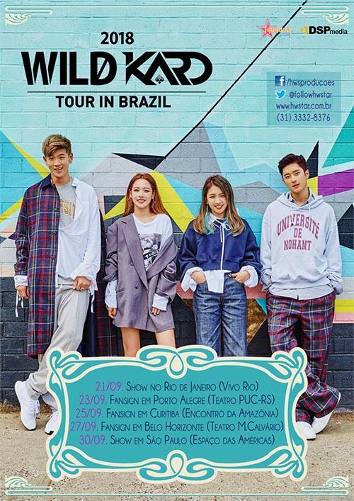 wild kard in brazil 2018
