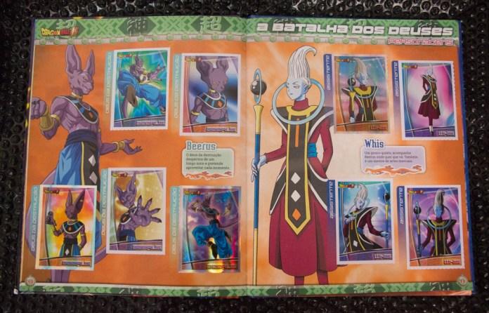 livro ilustrado Dragon Ball Super