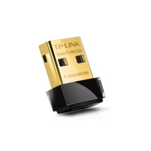 Adaptador Nano USB Inalámbrico N 2.4GHz 20dBm TP-Link WN725N