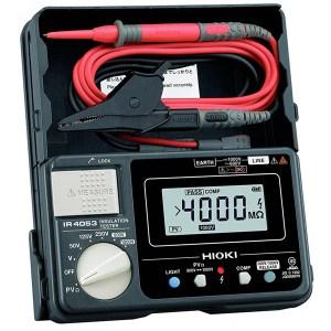 Medidor De Resistencia De Aislamiento 1000V Hioki IR4053