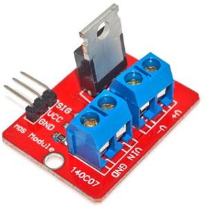 Módulo De Controlador De Mosfet Irf520 MODIRF520