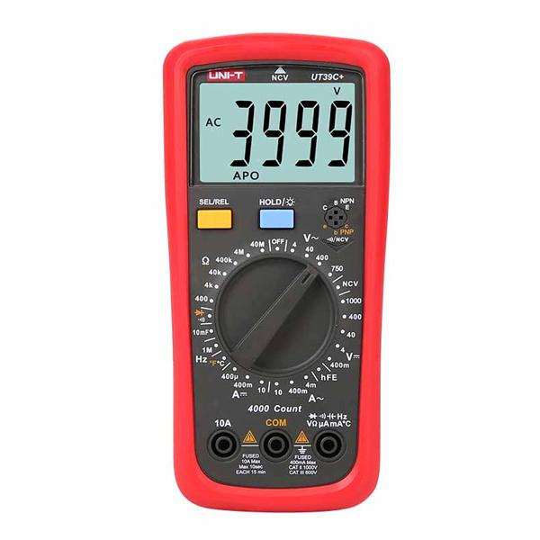 Multímetro Digital Unit UT39C+