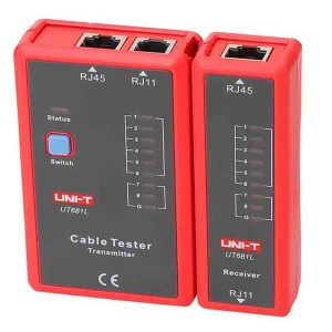 Probador De Cables De Red Unit UT681L