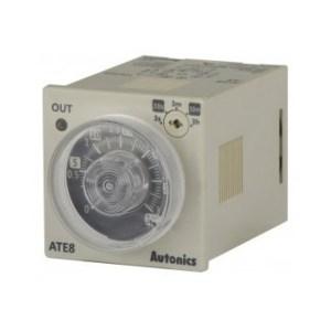 Temporizador Análogo Multirango 3s/30s/3m/30m/3h ATE8-43 Autonics