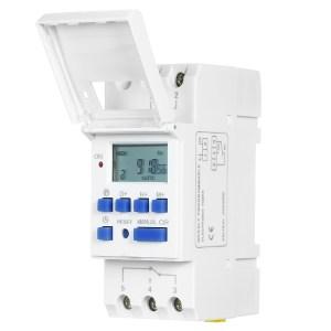 Temporizador Semanario Electrónico Digital 110Vac/16A THC15A