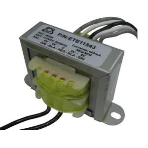 Transformador De Voltaje 800mA 7.2VA 110Vac/6/9/0Vac TR507M Magom