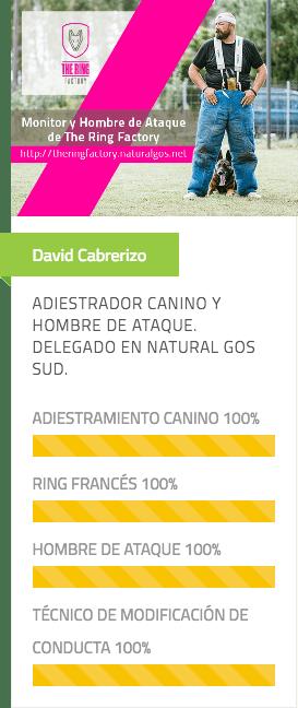 David Cabrerizo, del equipo Natural Gos y Delegado de Natural Gos Sud