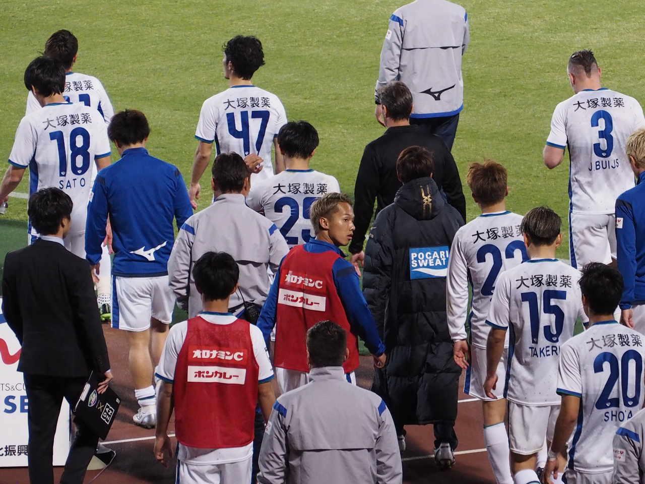 2019年4月20日 徳島ヴォルティス ファジアーノ岡山 シティライトスタジアム