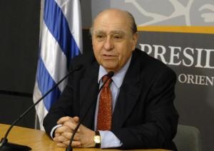 El ex presidente uruguayo Luis María Sanguinetti