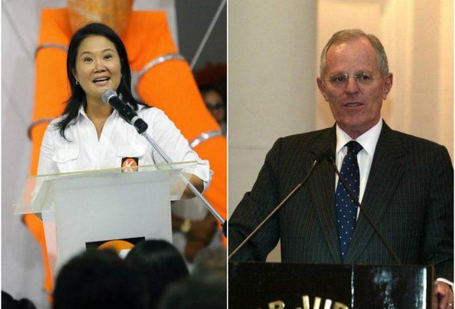 Keiko Fujimori y PPK se verán ñas caras en ls urnas el 5 de junio