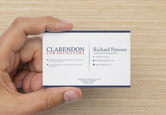 Solicitor Business Card Design