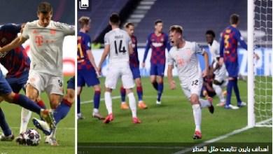 "Photo of ""مباراة المهانة"".. بايرن ميونيخ يكتسح برشلونة بنتيجة جنونية"