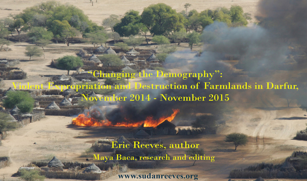 The annihilation of Darfur High Resolution