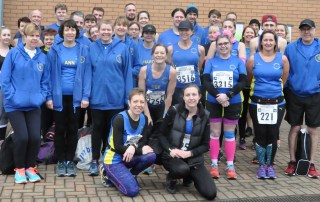 Colchester Half Marathon 2018 - Team photo