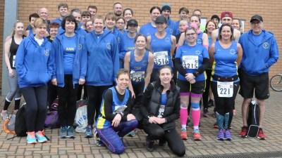 Colchester Half Marathon 2018 - Team photo