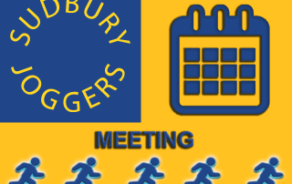 Sudbury Joggers Club Meeting