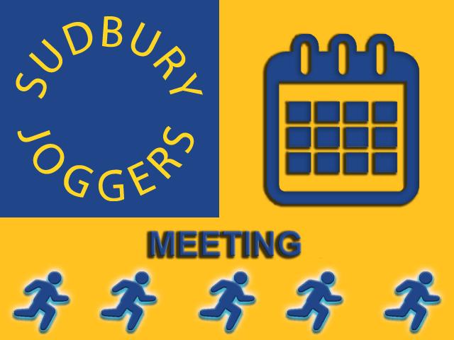 Sudbury Joggers Club Meeting