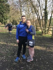 Dan Smith and Sarah Pennock at the Rayne Anniversary Challenge