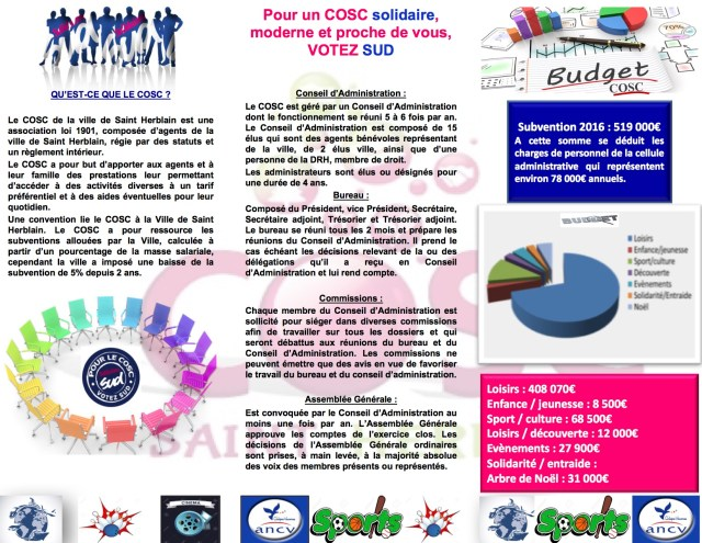flyer campagne COSC