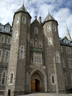 entryway to saint patrick's college at maynooth