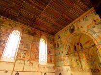 Kasetonowy strop nawy