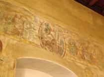 Chrystus z Apostołami nad łukiem tęczowym