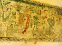 Polichromie - Pokłon Trzech Króli - detale