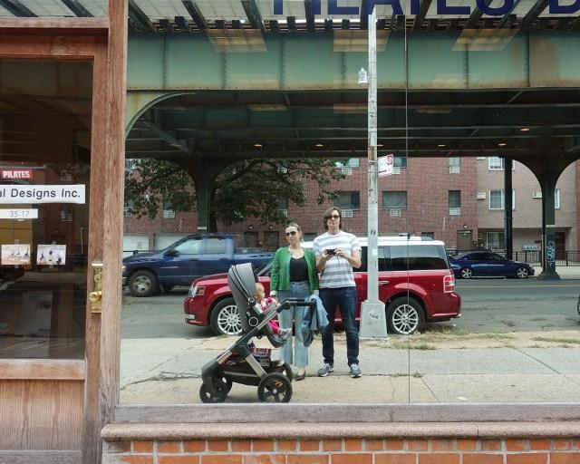 Family portrait, 31st Street, Astoria, Queens
