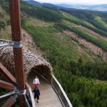 Ścieżka w Obłokach - Dolni Morava