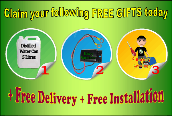 Inverter Battery free Gifts