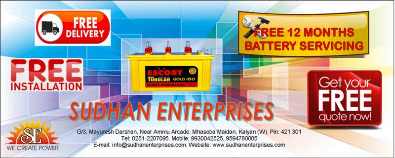 Escort Tubular Battery