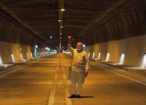Chenani-Nashri tunnel-narendra-modi