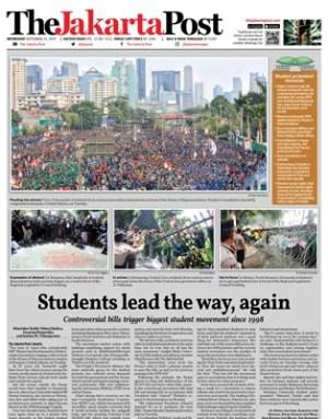 Jakarta Post Cover COV250919
