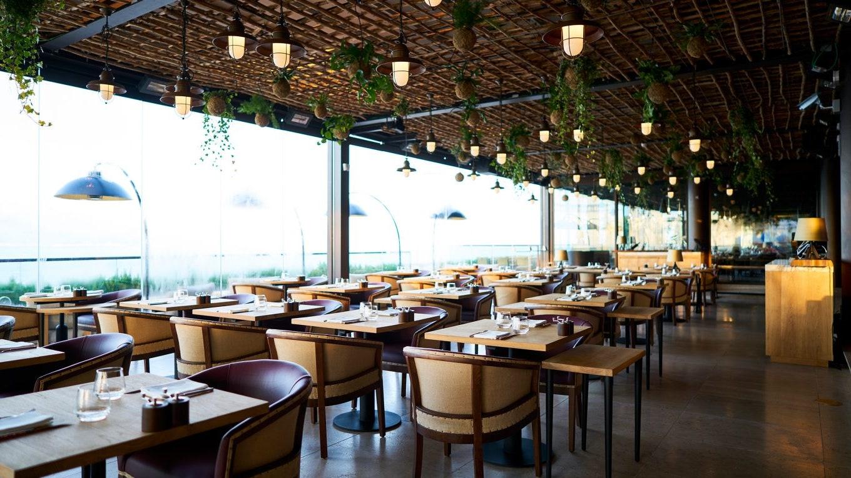 An infinity pool, views of Tagus River, live music and modern cuisine set SUD Lisboa apart
