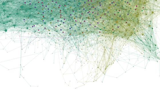 detail of columbia city fb group network analysis