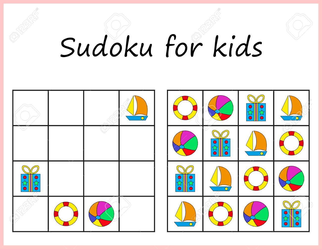 Printable Sudoku For Preschoolers